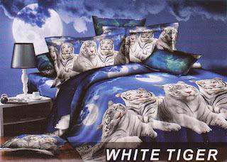 Sprei Fata White Tiger
