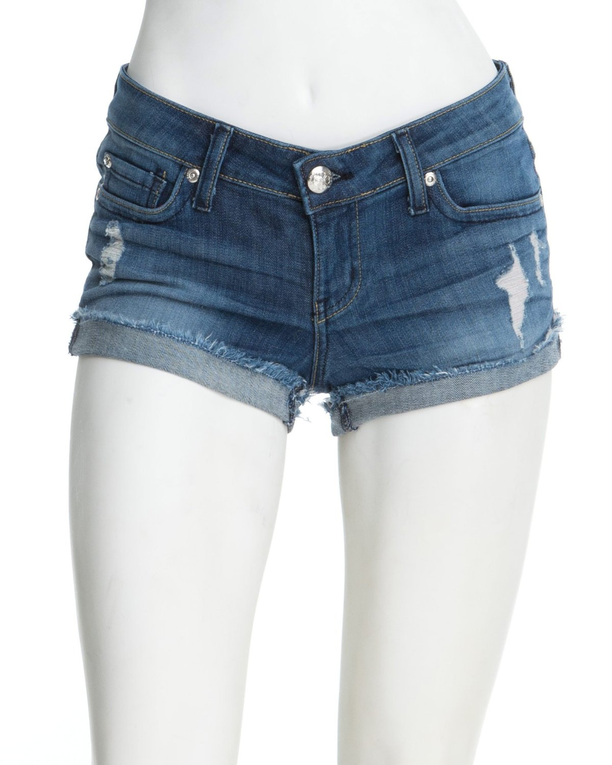 Denim Shorts Short Men
