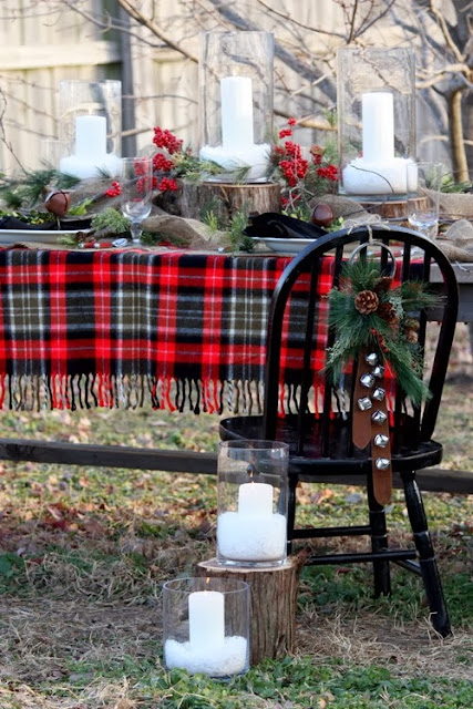 Tartan-plaid-table-runner
