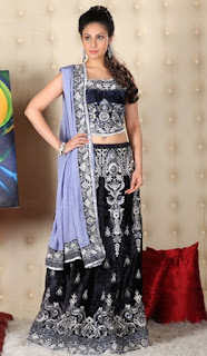 Navy-Blue-Party-Wear-Saree