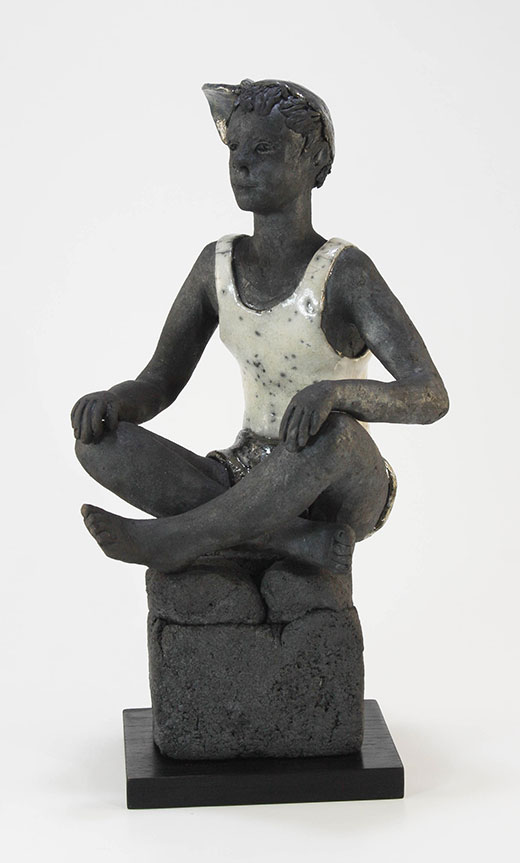 sculpture raku sylvie renoux