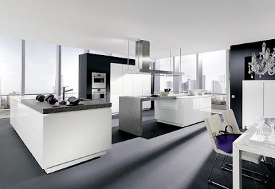 Luxury Modern White Interior Design Kitchen