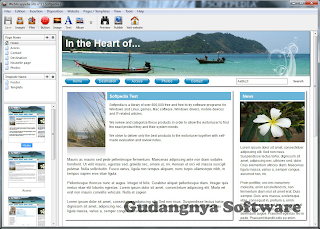 Web Acapella 4.3.1.8 Full Patch - Software Pembuat Website