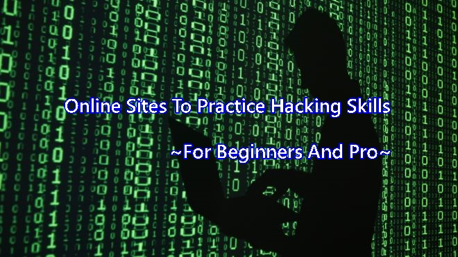 online live site to practice hacking skills