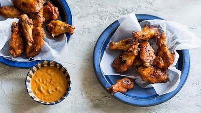 Chicken wishbone wings