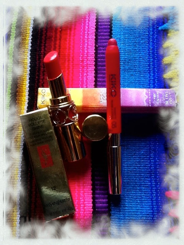 Lip Products YSL KIKO