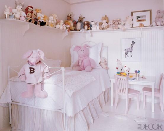 33 ideas de decoración del dormitorio de las niñas : decorando mejor