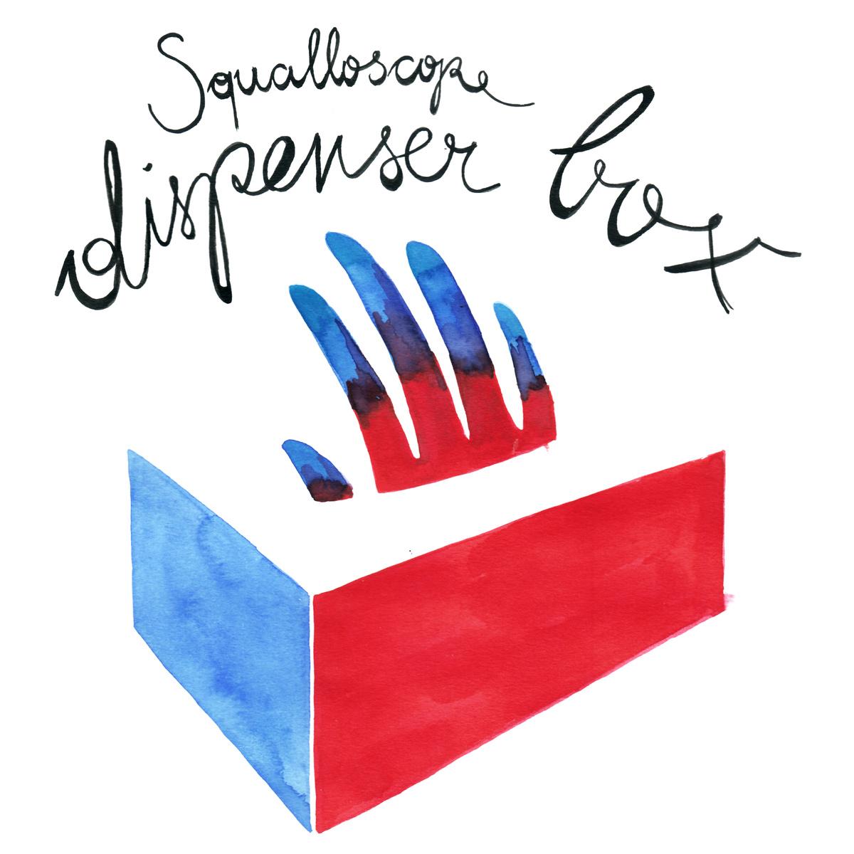 Squalloscope - Dispenser Box