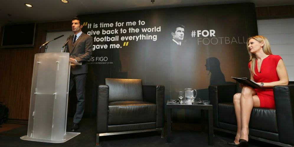 Louis Figo Inginkan Piala Dunia 40 atau 48 Tim