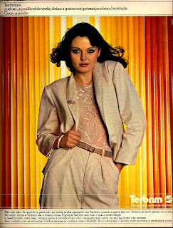 propagandaTecidos Terbrim - Santista - 1979. Década de 70
