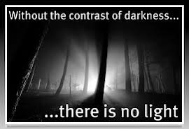In my darkness I saw lights...