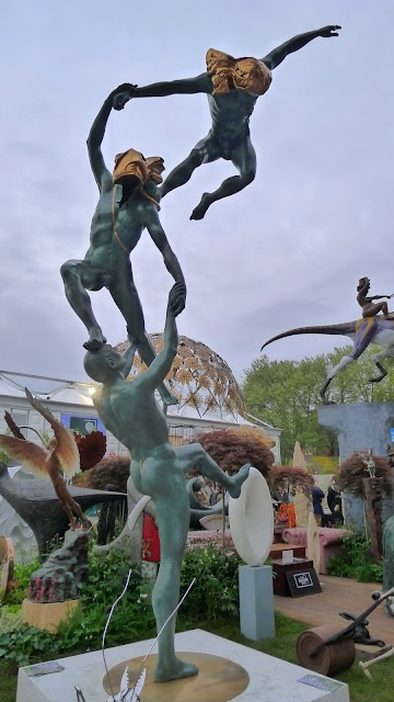 Leaping and Jumping at The RHS Chelsea Flower Show 2013