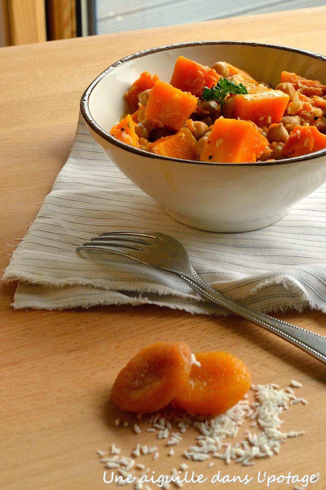 recette potiron épices