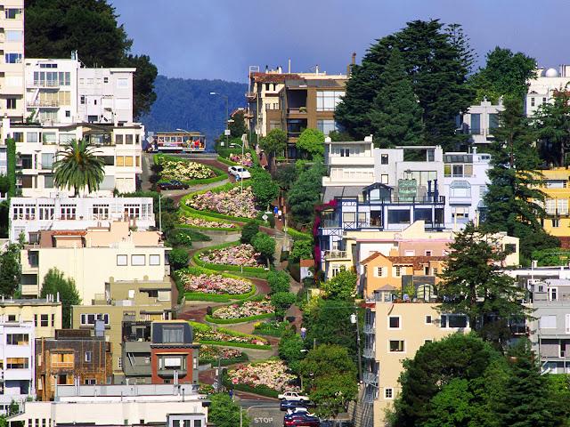 Lombard Street - San Francisco - que visitar