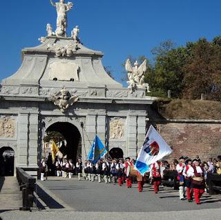 Citadel Alba Carolina-scrolling guard-guard training exchange