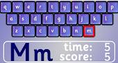 Jugando con el teclado y aprendiendo a leer y a escribir