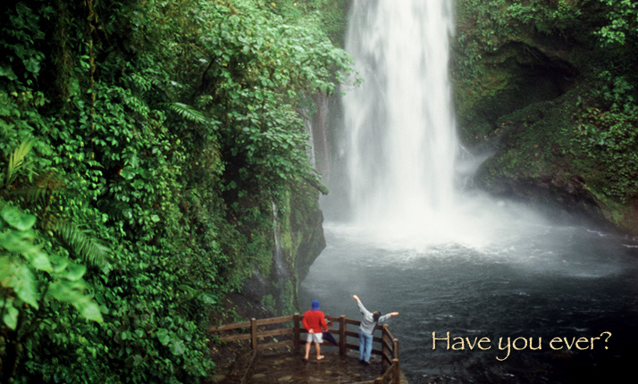 Costa Rica Waterfalls Cool Review Chip Travel