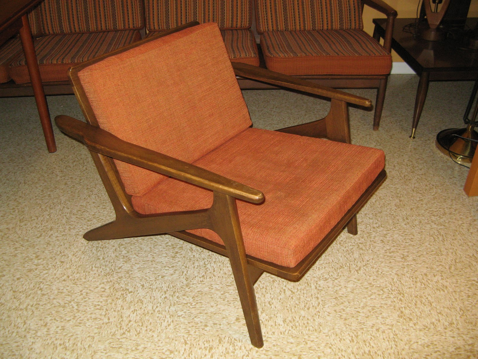 Gorgeous Danish Modern Chair In Excellent Condition. Chair Easily Comes  Apart So This Can Be Transported With A Small Vehicle.