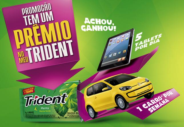 """Trident - 'TEM UM PRÊMIO NO MEU TRIDENT"""""""