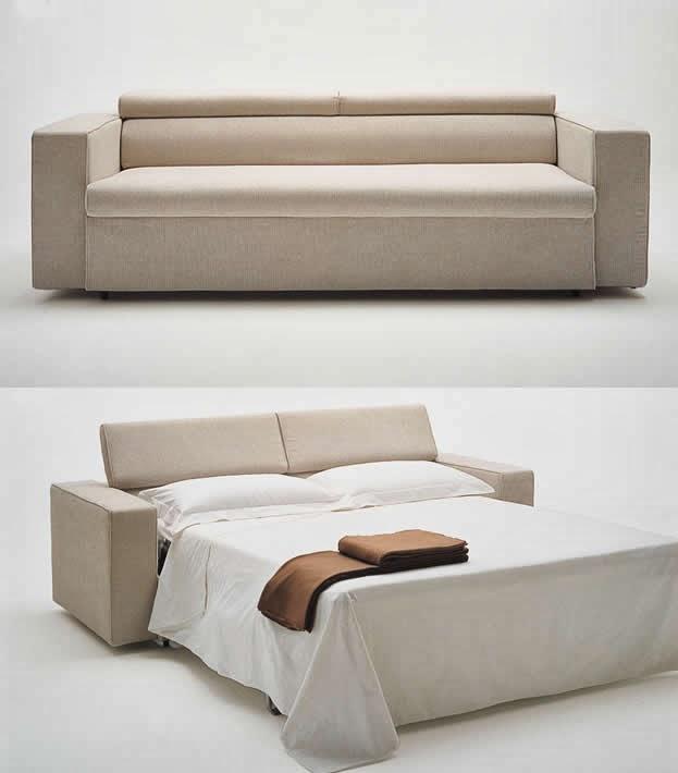 أريكة تتحول إلي سرير كامل