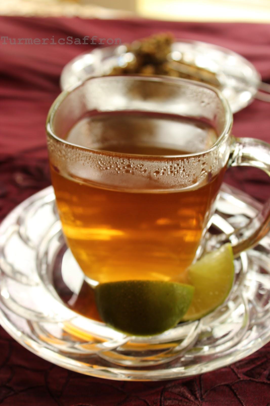 Turmeric & Saffron: Chai Babooneh - Chamomile Tea
