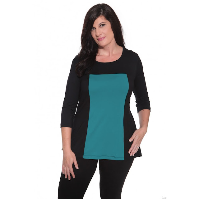 Color Block Women's Top from Covered Perfectly