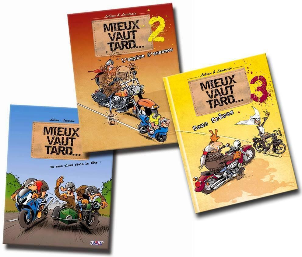 Trois tomes disponibles ...