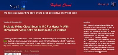 MS4U Child Site -Hybrid Cloud