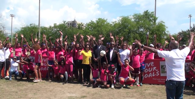 Live Your Goals tocó el corazón del fútbol femenino en la capital Dominicana