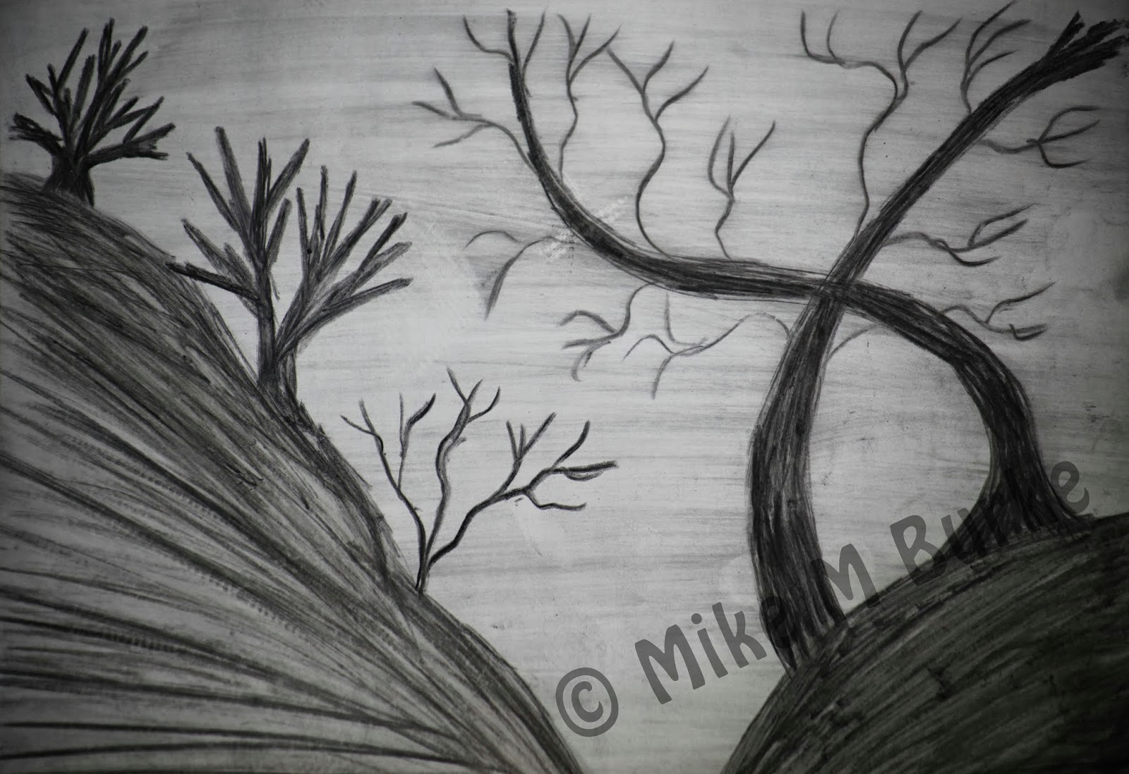 mikemburkedesigns etsy shop blog gothic drawings perfect for