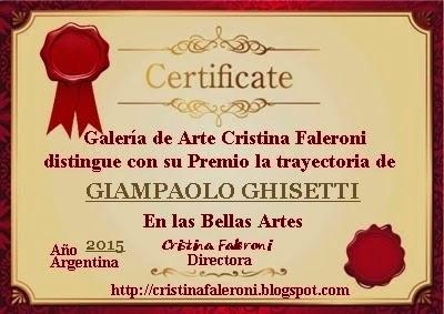 Giampaolo Ghisetti - Premiado