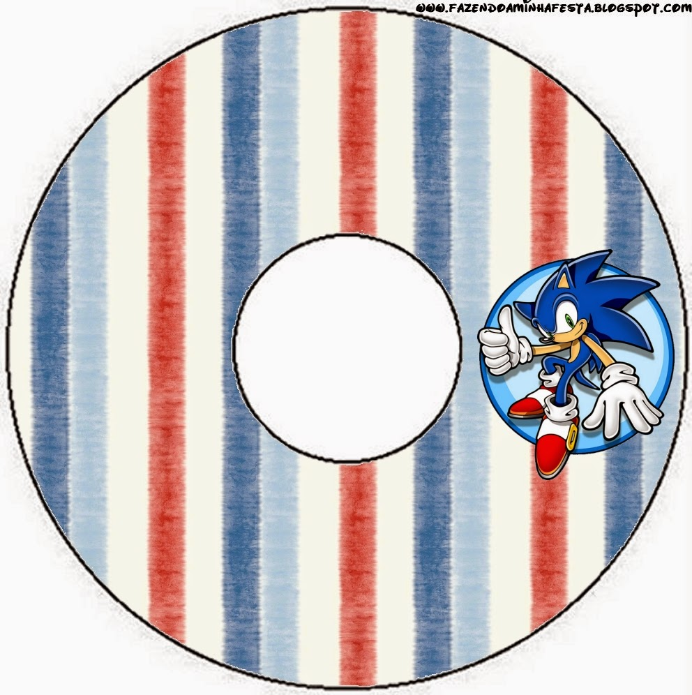 CD Labels of Sonic.