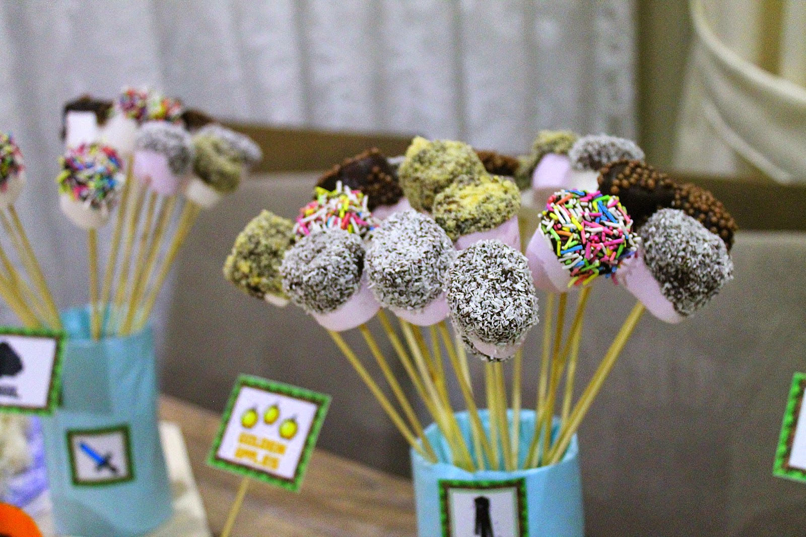 Çikolatalı Marshmallow Çubukları