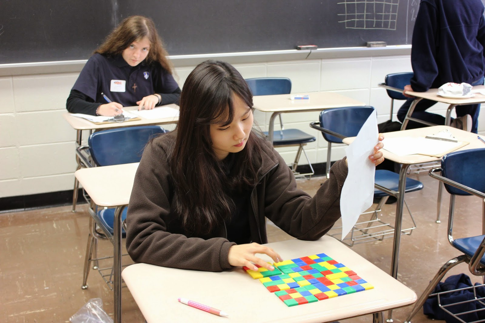 Montgomery Catholic Places 1st at AMP'd Puzzle Challenge 2