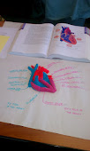 Heart constructed of play dough