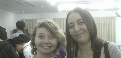Suzanne (left) with a friend at church
