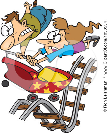 Roller Coaster Car Clip Art Images & Pictures - Becuo