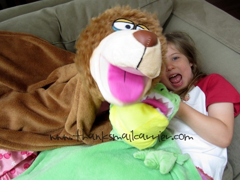 CuddleUppets review