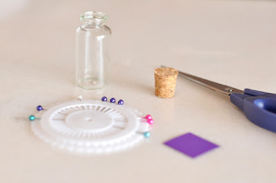 Μπουκαλάκια με καραμέλες και ανεμόμυλους-tutorial