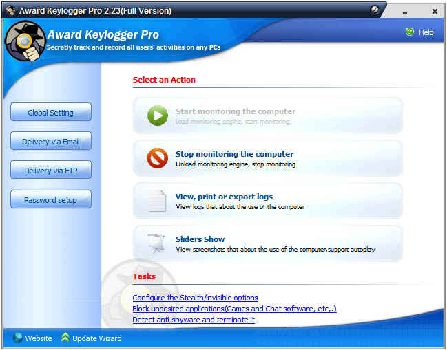 Free Download Award Keylogger Pro 2.23 Full Version