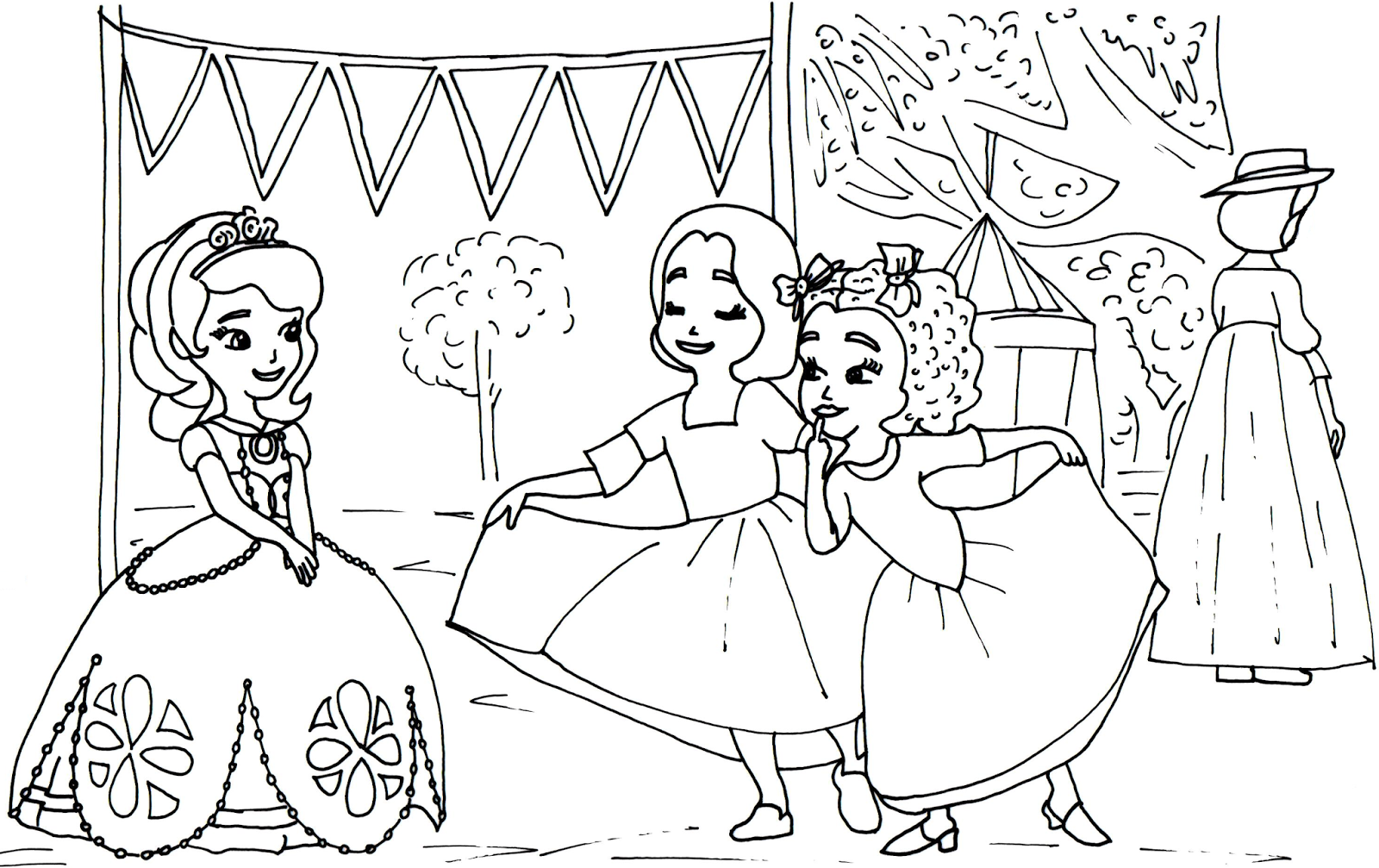 Ruby And Max Coloring Pages To