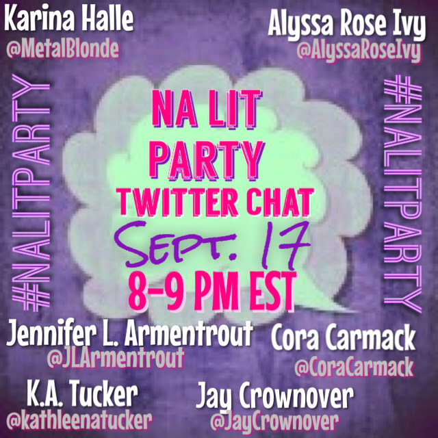 NA Lit Party Twitter Chat
