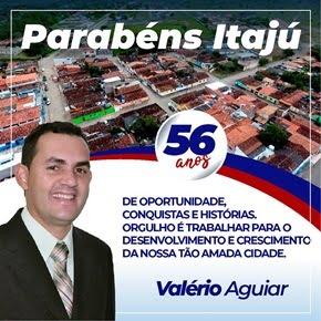 VALÉRIO AGUIAR - VICE PREFEITO DE ITAJU DO COLÔNIA