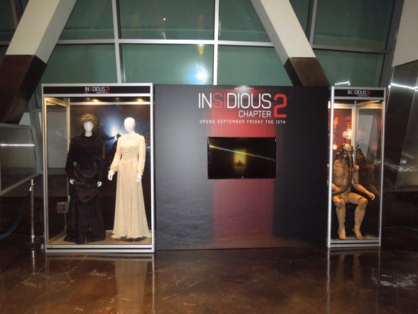 Insidious Chapter 2 movie costume prop exhibit