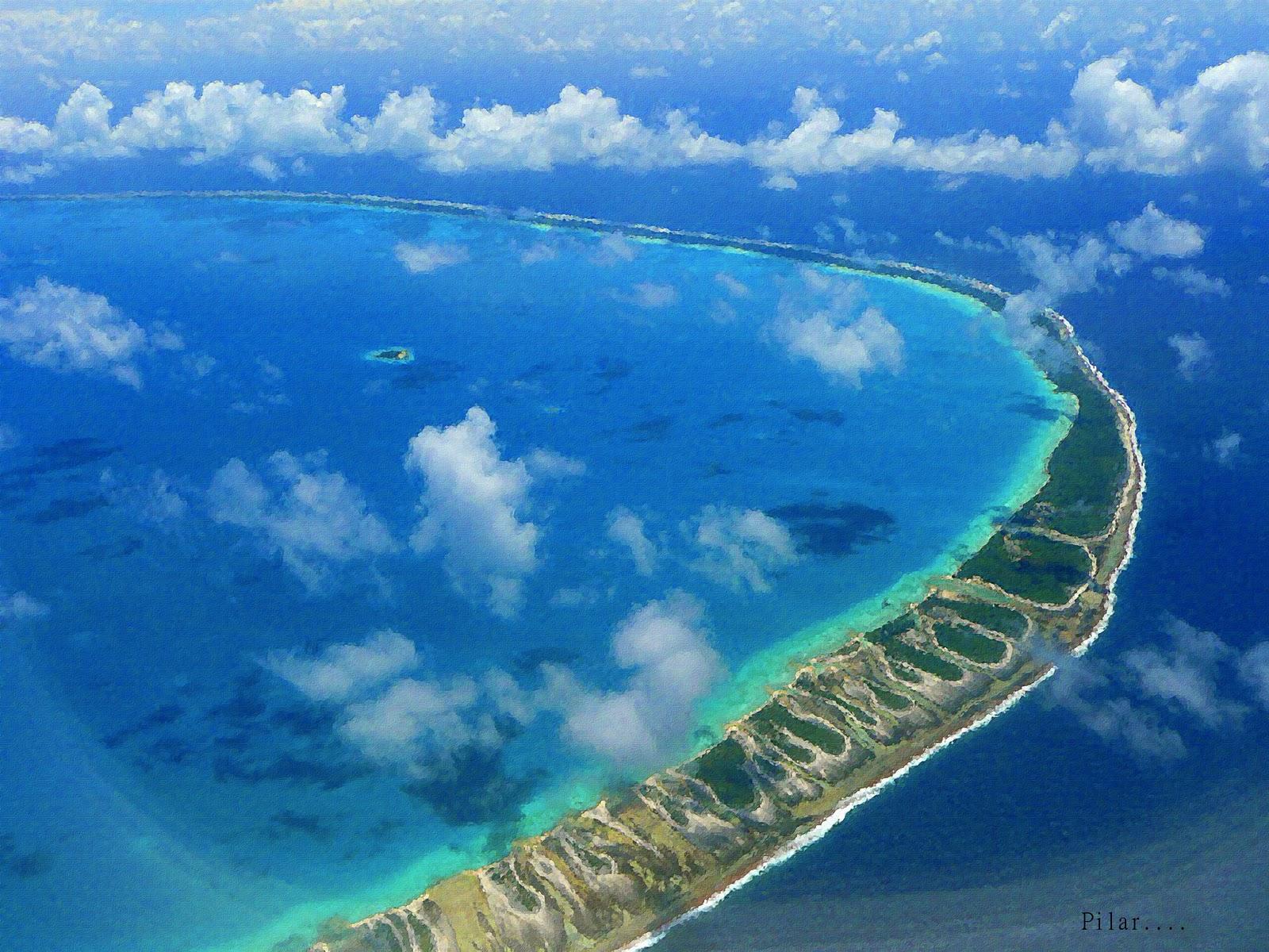 Pilar y sus complices el atolon de tikehau for Rangiroa urlaub