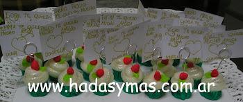 Muffins para todas las amigas de Donatella..