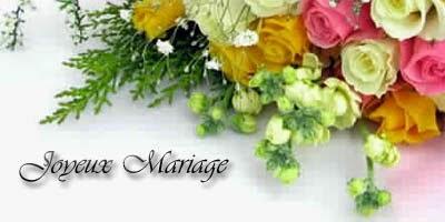 Carte de voeux de mariage à imprimer gratuitement