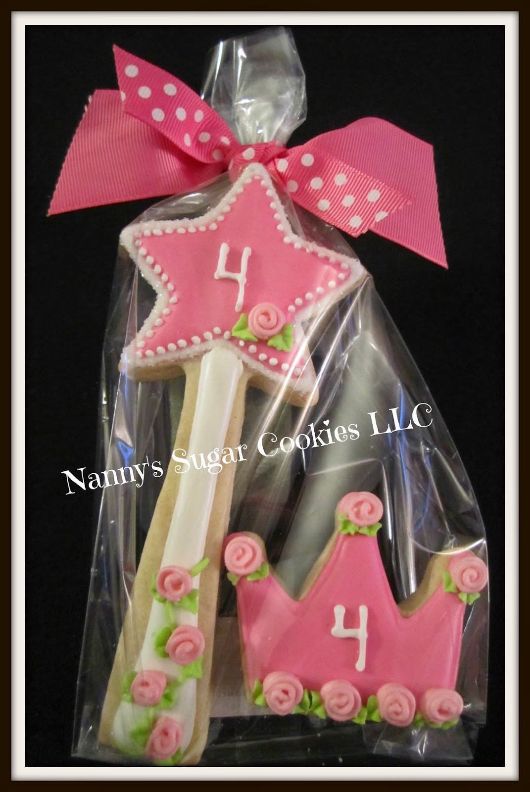 nanny u0026 39 s sugar cookies llc  cookies for a birthday princess