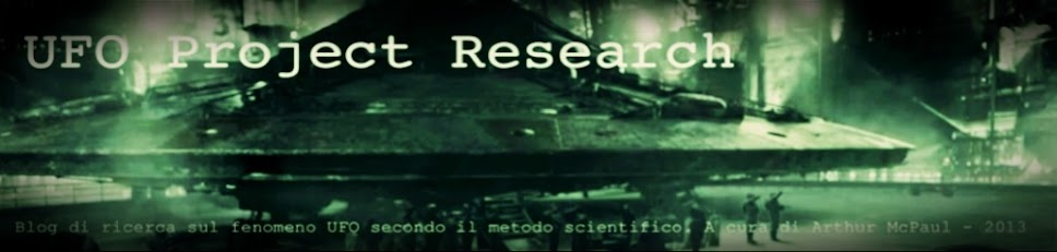 UFO PROJECT RESEARCH