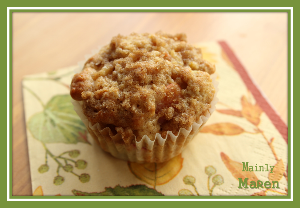 Mainly Maren: Apple Strudel Muffins